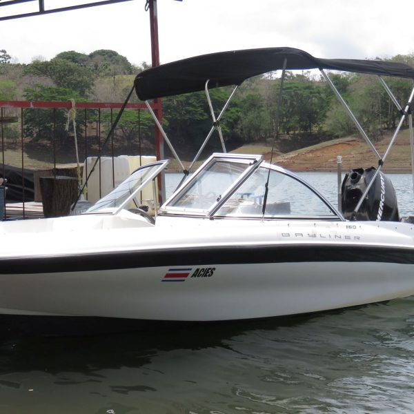 2010 Bayliner 160 OB boat in water for sale