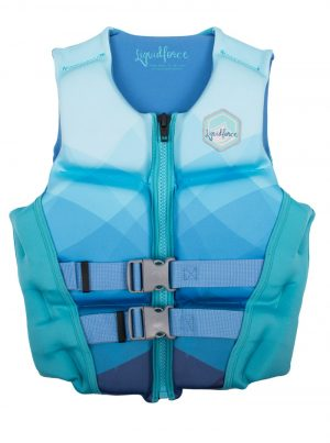 Ice blue liquid force diva wakeboard vest for sale in costa rica